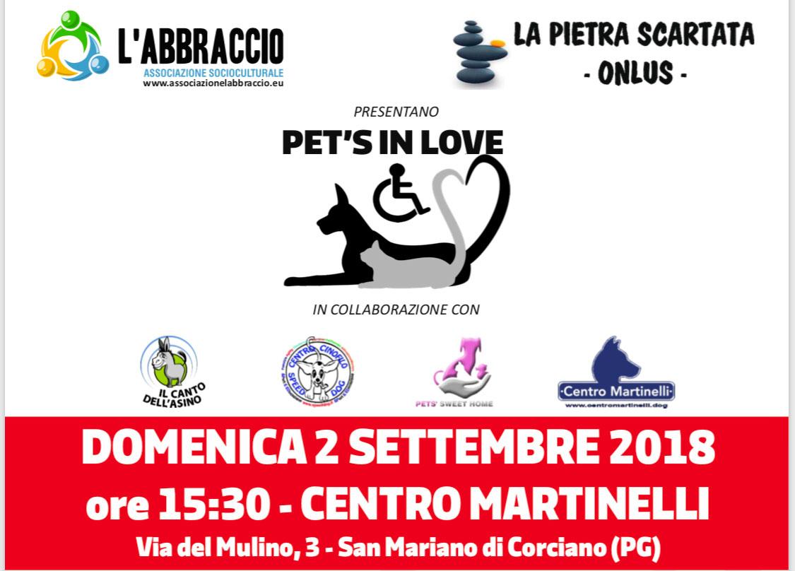 Evento 2 Settembre Pet's In Love